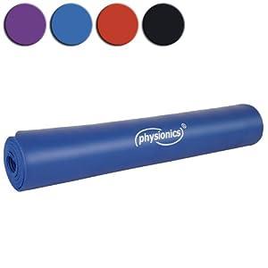 Physionics Yogamatte Pilates Gymnastikmatte, FNMT05-1.0Blau