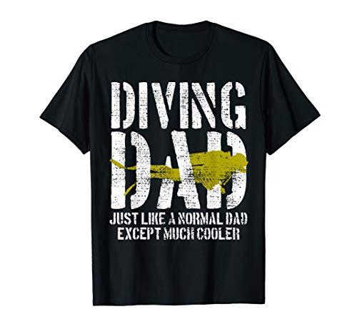 Scuba Diver Tshirt Diving Tee Deep Swim Underwater Shirt ()
