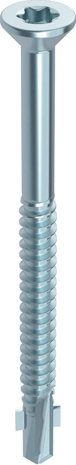 HECO-SC-S Fl/ügelbohrschraube Edelstahl A2 TX f/ür Holz-Metall-Verbindungen 5,5 x 75 mm 100 St/ück