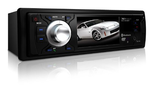 Mercury Bobcat Wagon (XO Vision XO1916BT 3-Inch Wide Screen DVD Receiver with Built-In Bluetooth, Detachable)