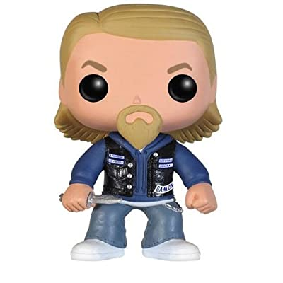 Funko POP! Television: Sons of Anarchy Jax Teller Action Figure: Funko Pop! Television: Toys & Games