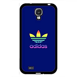 Adidas Logo Phone Case For Samsung Galaxy S4,Black Hard Plastic Samsung Galaxy S4 Case Cover
