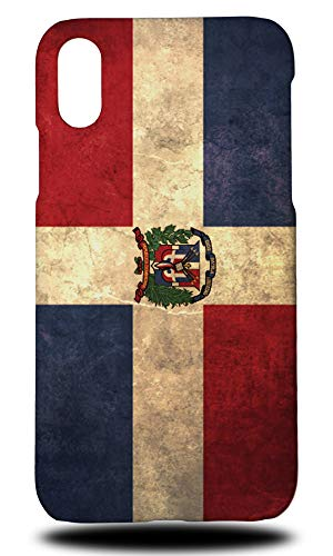 (Dominican Republic Country Flag Hard Phone Case Cover for Apple iPhone XR)