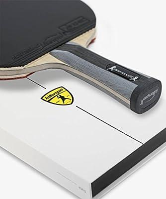 Flared NEW Killerspin 100-36 RTG Diamond TC Premium Table Tennis Paddle