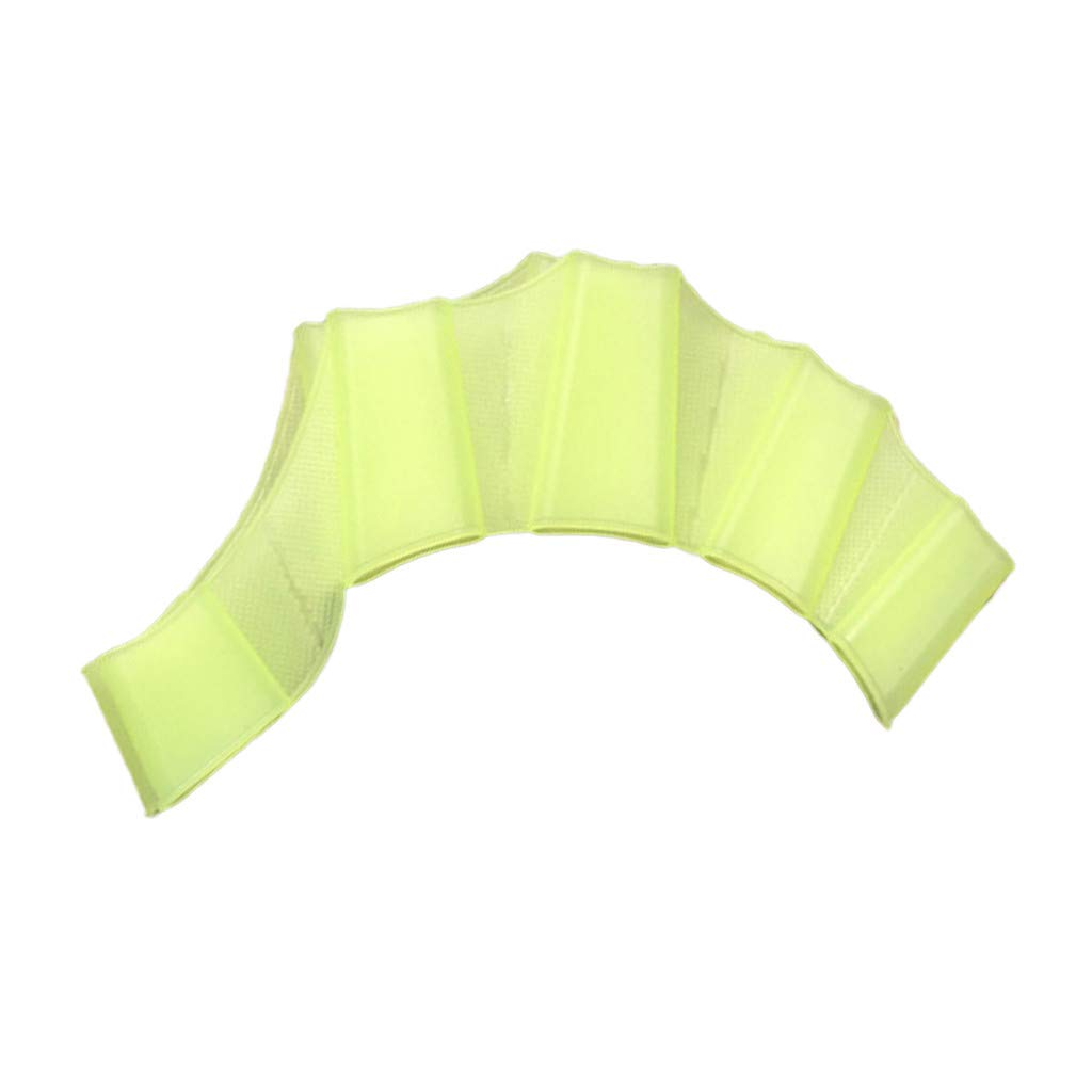 Silicone Hand Swim Fins Flippers Swim Palm Finger Webbed  Paddle Glove S//M//L