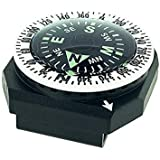 Sun Company GoCompass - Micro Orienteering Wrist Compass | Watch Band or Paracord Bracelet Compasses with Rotating Bezel
