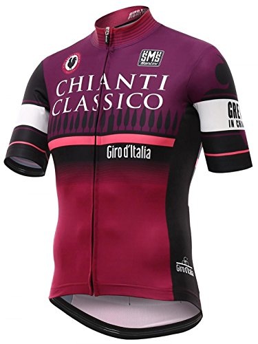 Santini-Red-2016-Giro-D-Italia-Stage-9-Chianti-Short-Sleeved-Cycling-Jersey