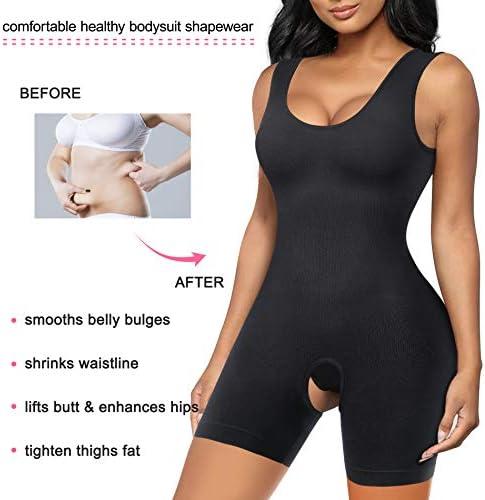 Gotoly Shapewear for Women Scoop Neck Tank Tops Bodysuits Jumpsuits Waist Trainer Full Body Shaper 3