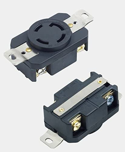 NEMA L20-30P Power Locking Twist-Lock Plug 30A 347//600V 3 Phase L20-30