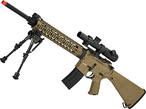 Evike - CYMA Full Metal MK12 SPR MOD.1 Airsoft AEG (Package: Gun Only/Flat Dark Earth)
