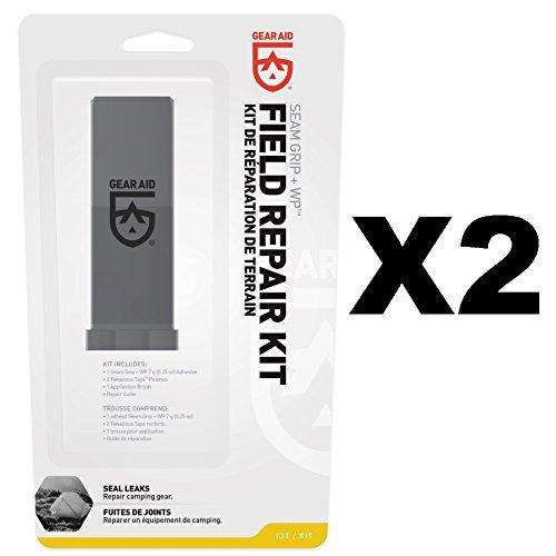 McNett Gear Aid Seam Grip Field Repair Kit w/Tenacious Tape Patches (2-Pack)