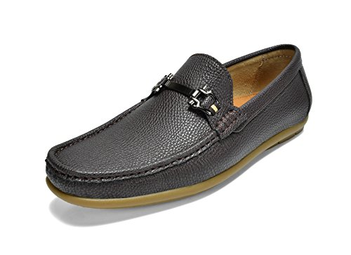 Penny Driving Mocs (Bruno Marc Men's BENNETH-01 Coffee Driving Loafers Moccasins Shoes - 11 M US)