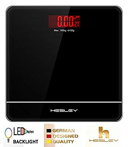 Hesley weighing scale with advanced step on technology