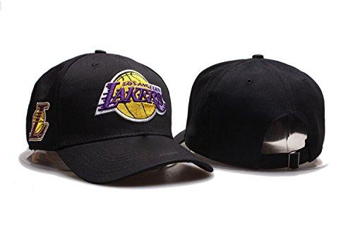 JOE JOURNEYMAN Los Angeles Lakers NBA Mens Team Logo Sport Baseball Cap Adjustable Plain Hat (One Size, Los Angeles Lakers2)
