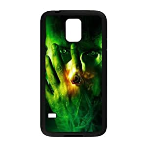 Samsung Galaxy S5 Cell Phone Case Black Designed to Think T8J9VP