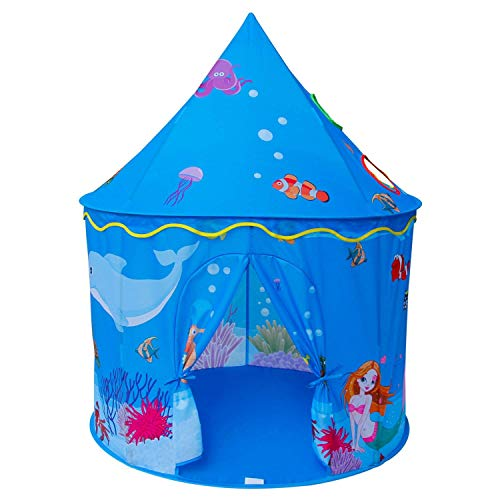 info for f5ef6 46e46 Amazon.com: Jueven Castle Tent Children's Play House Indoor ...