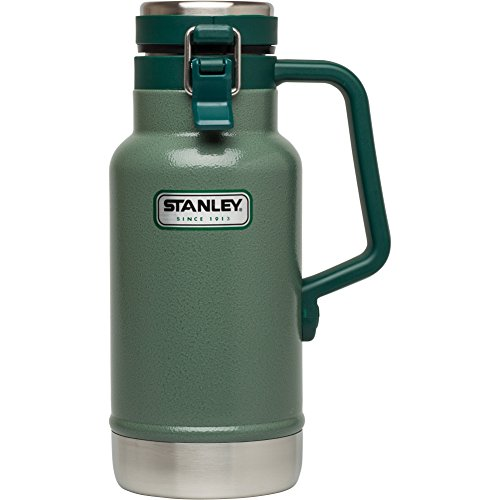 Stanley Classic Vacuum Insulated Half Growler (Grumbler), 32 oz (Vacuum Classic Stanley Bottle)