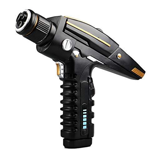 Gankchen Star Trek Discovery Starfleet Hand Resin Phaser Replica Gun Type II Kit Halloween Props (Phaser Star Trek Kit)