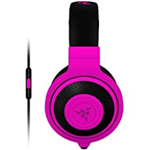 Razer Kraken Mobile Analog Music & Gaming Headset-Neon Purple