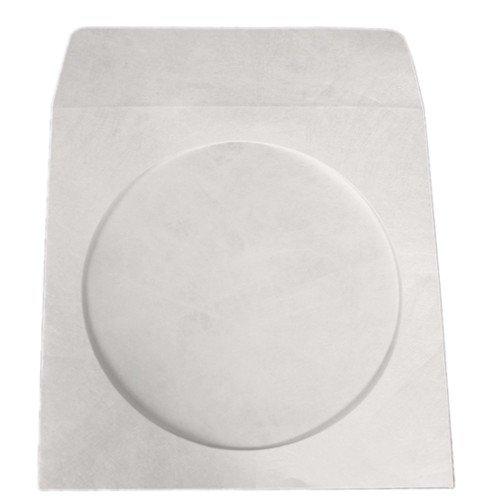 Tyvek Cd / Dvd Storage - mediaxpo 100 Tyvek CD/DVD Sleeves with Window & Flap