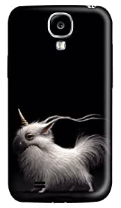 Brian114 Samsung Galaxy S4 Case, S4 Case - Customized 3D Designs Snap-on Case for Samsung Galaxy S4 I9500 Scrappy Little Unicorn Best Protective Back Case for Samsung Galaxy S4 I9500