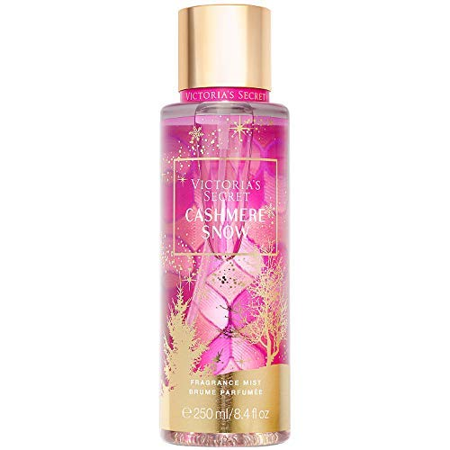 Victoria Secret CASHMERE SNOW Scents of Holiday Fragrance Mists 8.4 Fluid Ounce, 2019 Edition