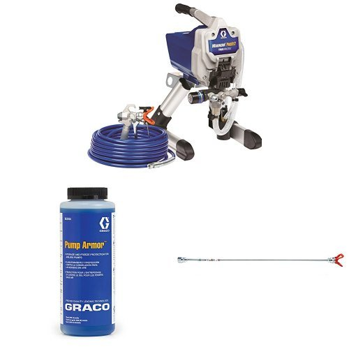 Graco Magnum ProX17 Paint Sprayer Kit with Pump Armor and Tip Extension