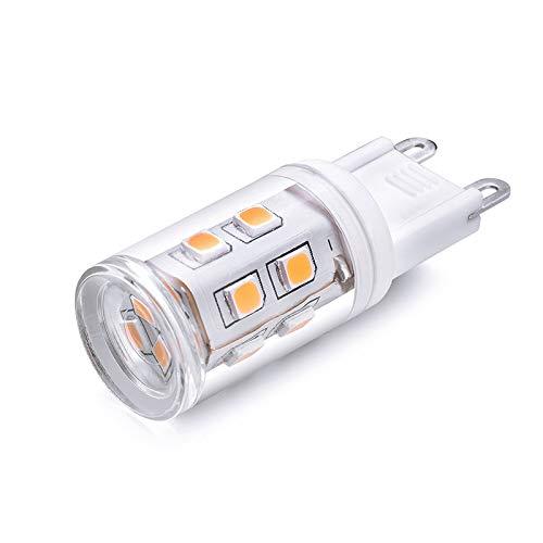 Led-Glühlampen 220V15Led Lampenperlen Mais 15Led Lampenperlen G9 Led Maislampe 3W, Warmweiß, 3W 45Led