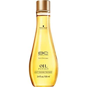 Schwarzkopf BC Bonacure Hairtherapy Oil Potion 3.4 oz / 100 ml Light Finishing