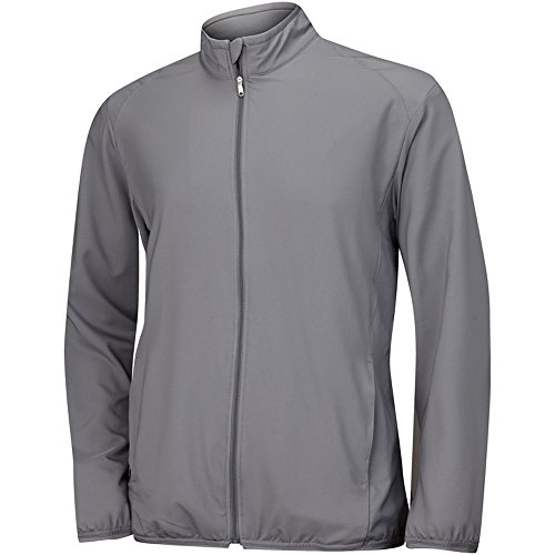 adidas Golf Men's Essential Solid Wind Jacket, Vista Grey, XX-Large by adidas