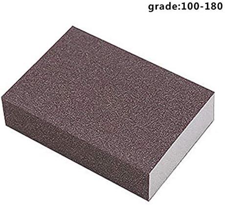 Yalatan Abrasive Schleifen Schwamm Blöcke Grob Medium fein Superfine 4 verschiedene Spezifikationen mit groben Grits, waschbar und wiederverwendbar, Polieren Block für Holzbearbeitung
