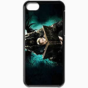 Personalized iPhone 5C Cell phone Case/Cover Skin Abcs of death the abcs of death demon wings a ghost a child films Black