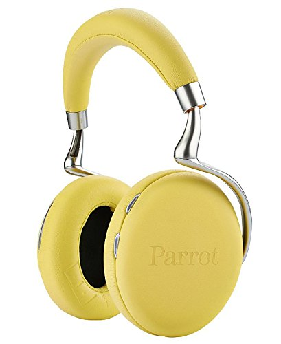 831b92c6fd8 Amazon.com: Parrot Zik 2.0 Wireless Noise Cancelling Headphones (Yellow):  Electronics