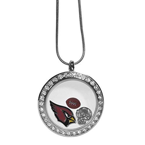 NFL Arizona Cardinals Locket Necklace, 18