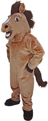 Friendly Horse Mascot Costume