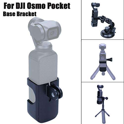 Solovley Flexible Adapter, Camera Bracket Adapter Expansion Connection Stand 1/4 Screw for DJI OSMO Pocket