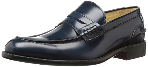 Bugatchi mens Lombari Loafer Navy