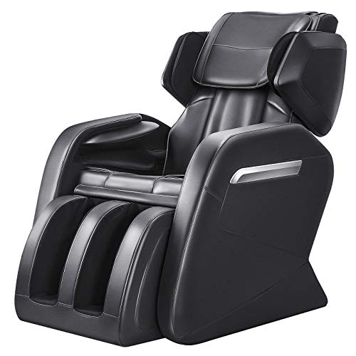 OOTORI Full Body Electric Massage Chair, Zero Gravity,Back Heating, Zero Space Design (Black)