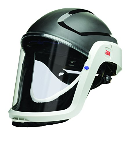 3M M-300 Series Versaflo Respiratory Hardhat Assembly M-307, with Premium Visor and Faceseal by 3M Personal Protective Equipment (Image #2)