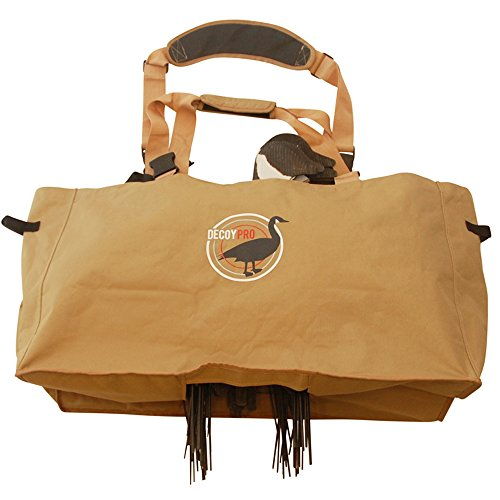 DecoyPro Silhouette Decoy Bags - Padded & Adjustable Shoulder Strap - Silhouette Goose Decoy Bags Protects Goose Decoys (Best Goose Decoys For The Money)