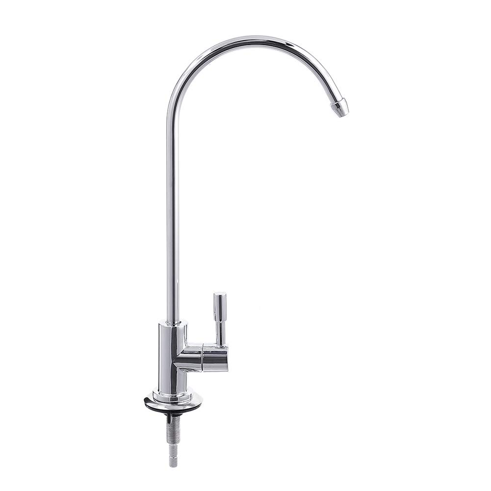 Lastnight Gooseneck Drinking Water Filter Faucet Filter System Sink Tap for Kitchen Any RO Reverse Osmosis Units