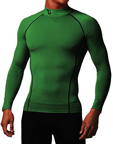 - Defender Compression Men Shirt Thermal Under Hombre Tights Basketball KN_2XL