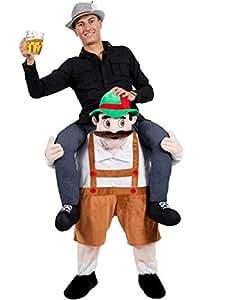 Black beauty Carry Me Mascot Beer Man Beer Festival Fancy Garden Gnome