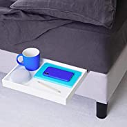 BedShelfie The Original Bedside Shelf for Bed and Bunk Bed Shelf 4 Colors / 4 Styles As Seen On Business Insid