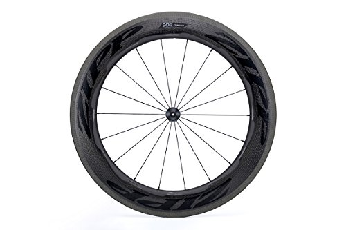 Wheel 808 Front Zipp (Zipp 808 Firecrest Carbon Clincher Front Wheel, Rim Brake, 18 Spokes, 77 Hub, B1, Black)