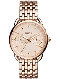 Women's ES3713 Tailor Multifunction Rose Gold-Tone Stainless Steel Watch
