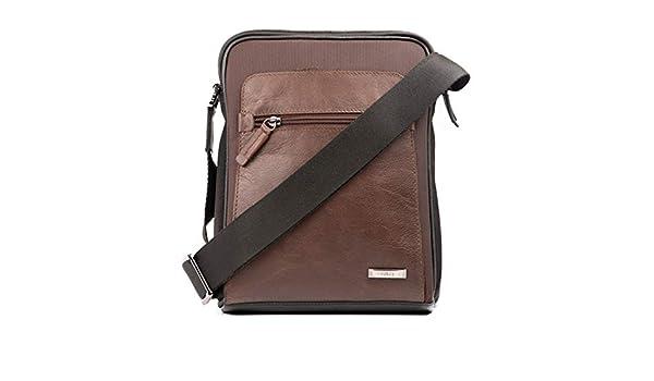 Amazon.com | VÉLEZ Men Genuine Leather Crossbody Bag | Bandolera De Cuero Bicolor | Backpacks