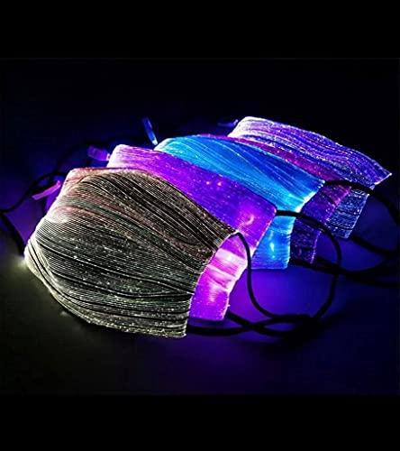New LED Mask 7 Color 11 Modes, USB Rechargeable Mask, Washable & Reusable, Designer Mask