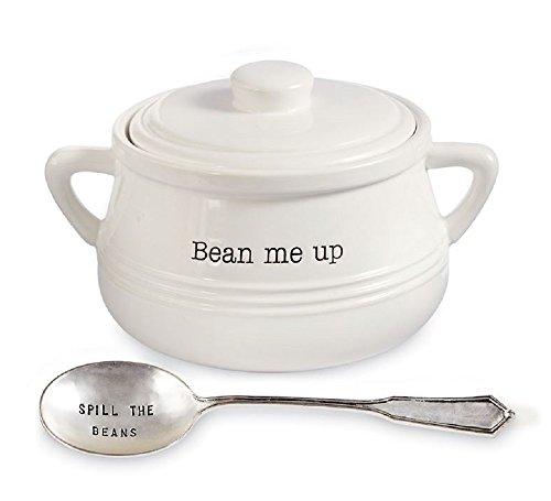Baked Bean Pot Set, Pot with lid 5 1/2