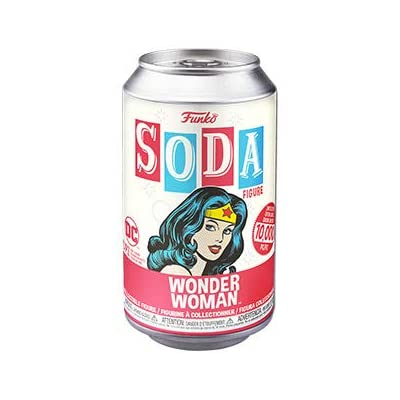 Funko Pop! Soda Wonder Woman DC Comics: Toys & Games [5Bkhe1104238]